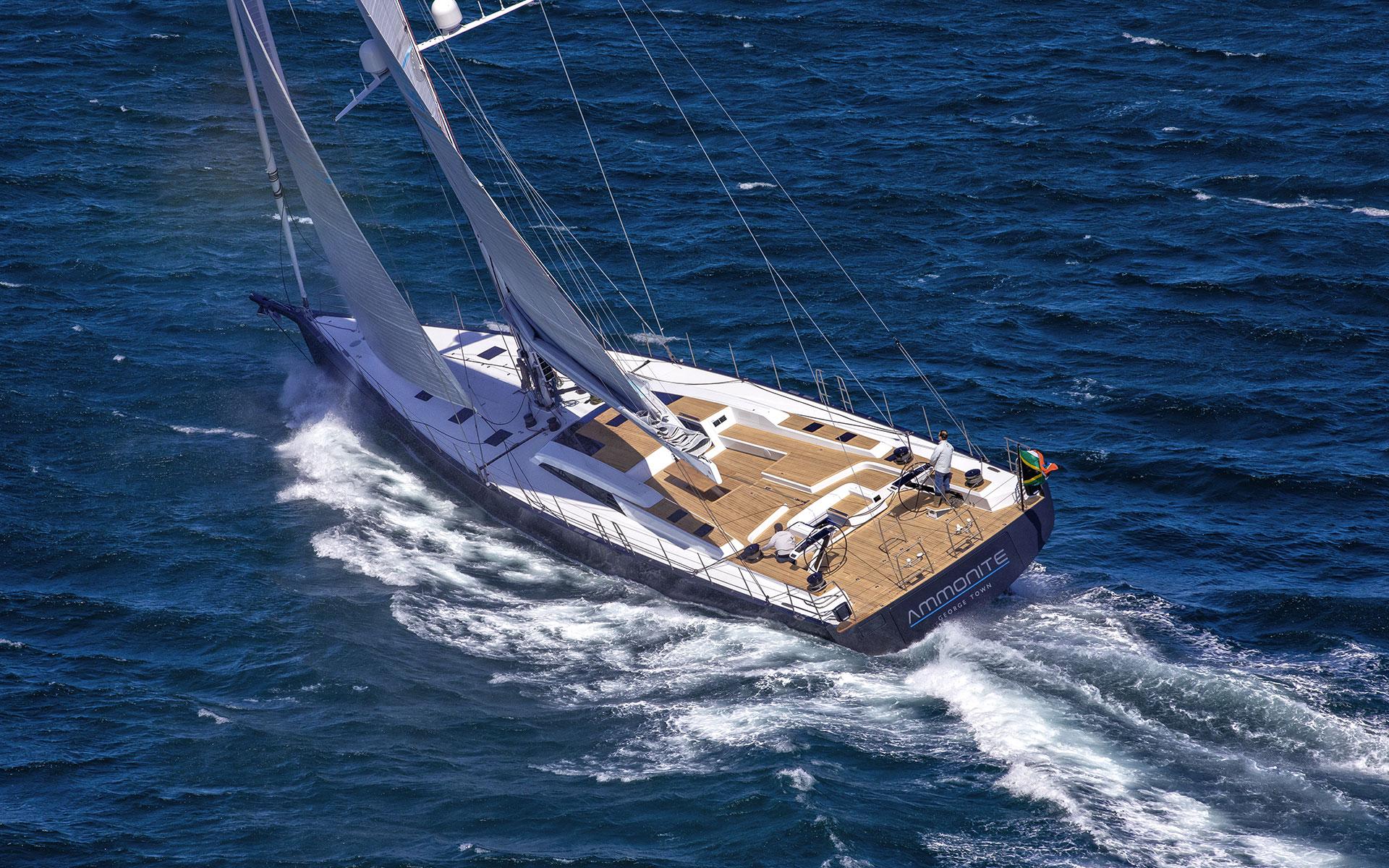 SW82 Ammonite-eplorer yacht