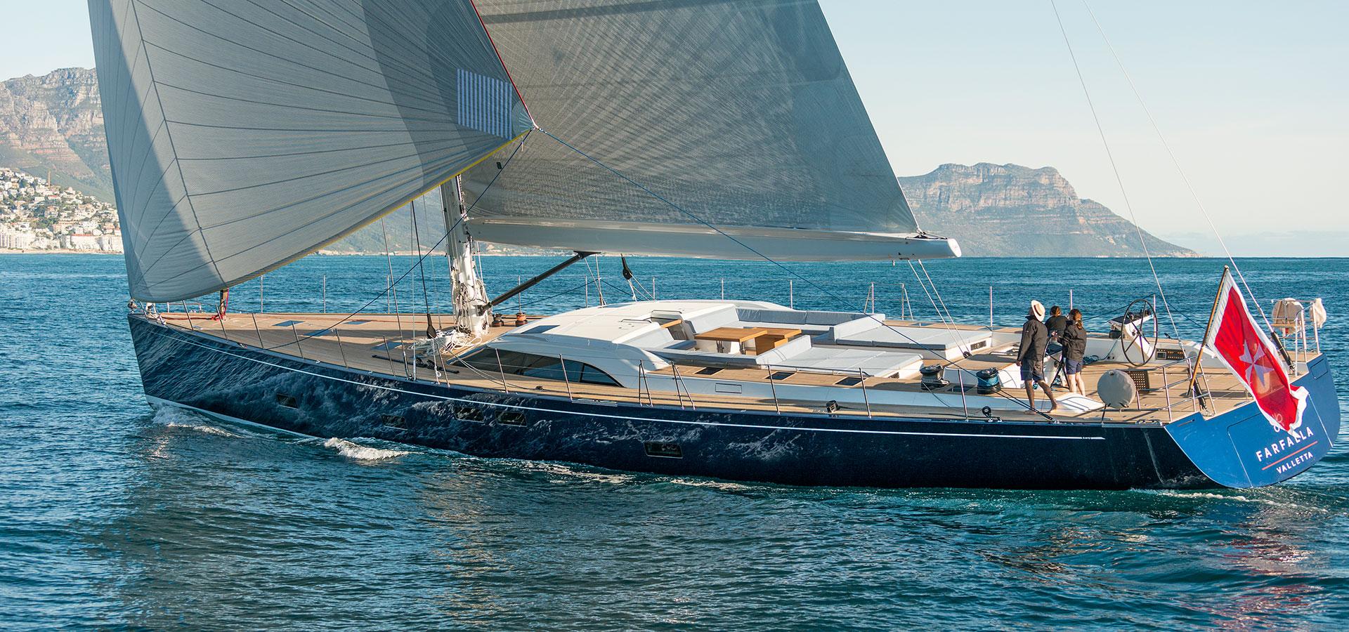 sw102 farfalla yacht for charter