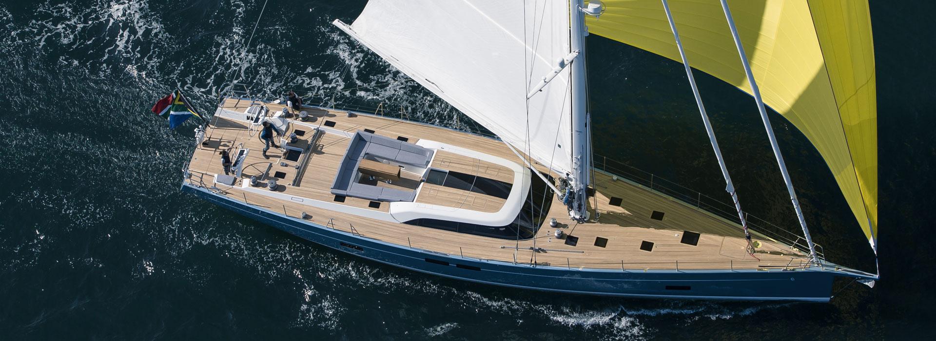 SW82 FEELIN GOOD sailing yacht