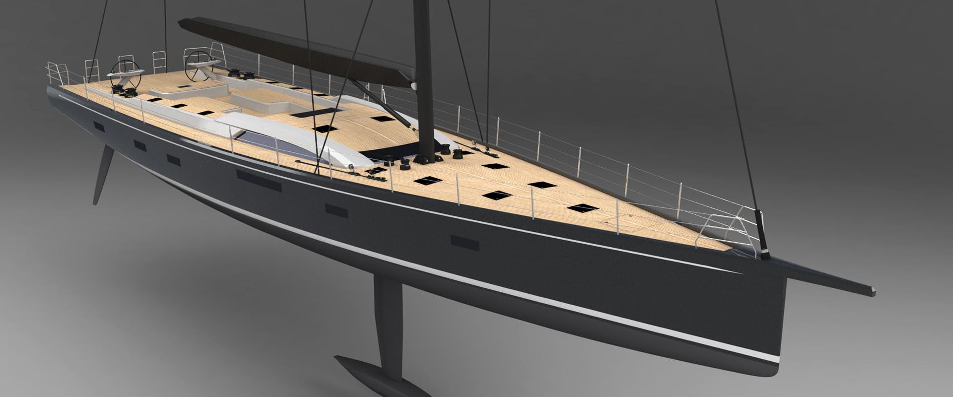 SW105 SØRVIND Sailing Yacht