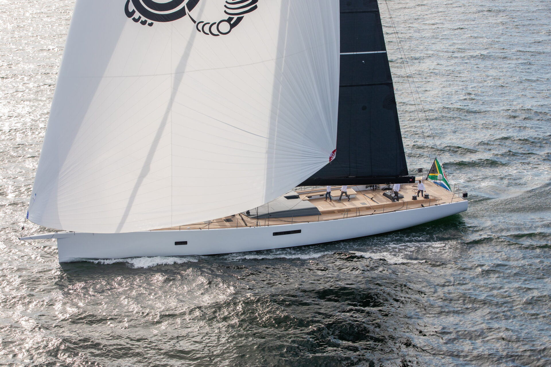 SW105 GT Taniwha Fast Bluewater Sailboat Under Sail