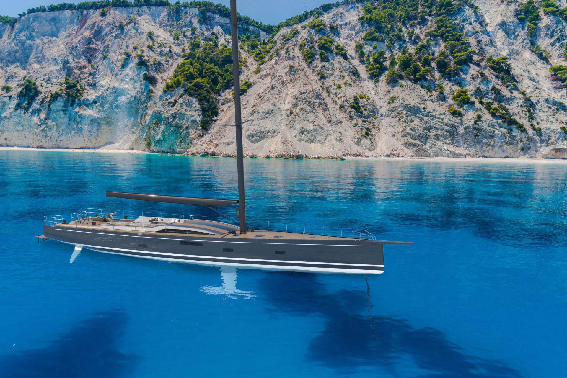 SW108 HYBRID Yacht