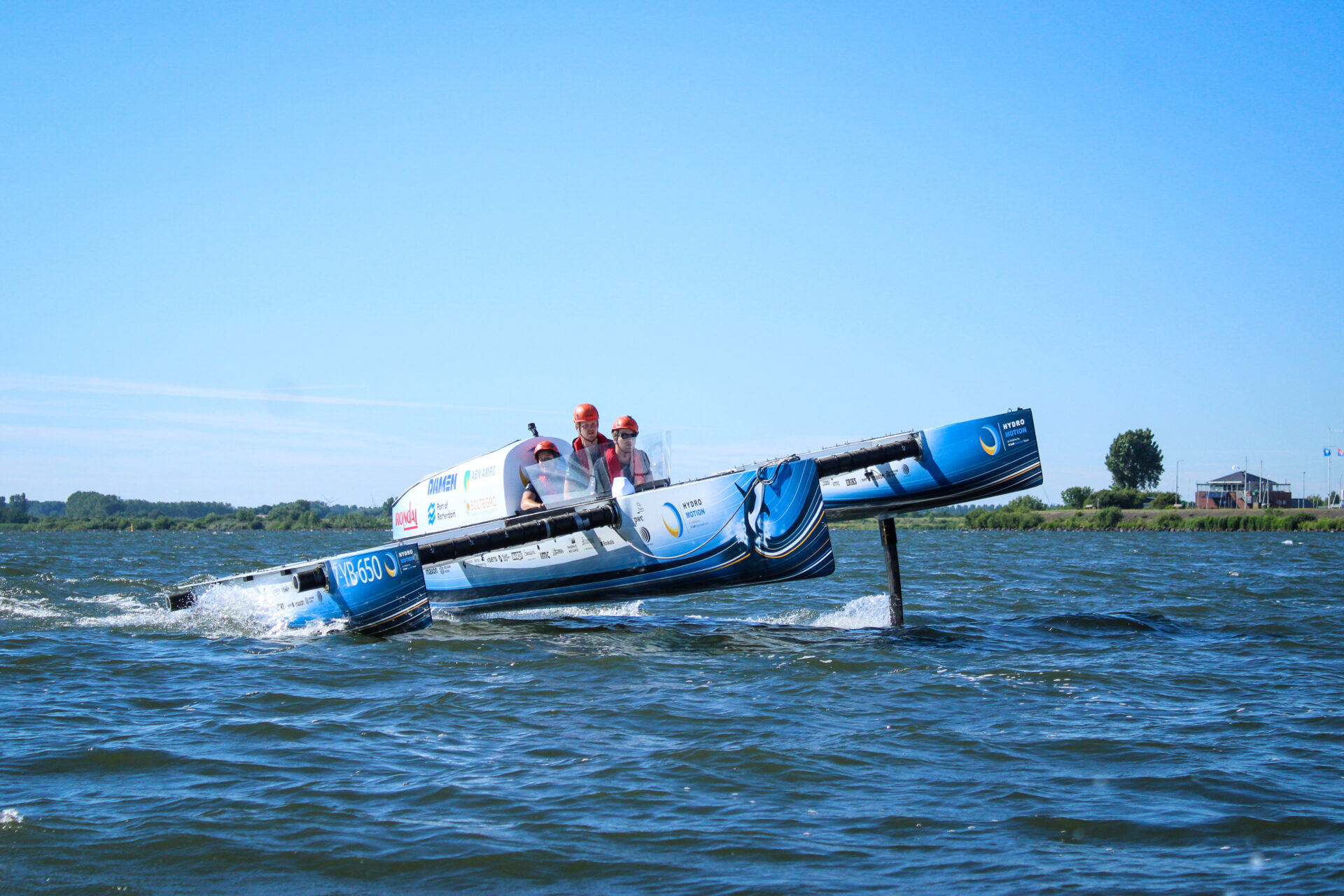 TU Delft Hydrogen Sustainable Boating Project